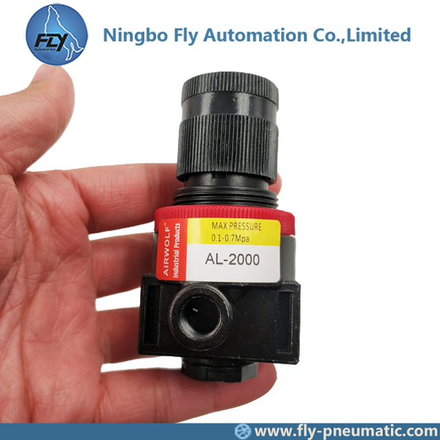 "AL2000 Airtac precision BR series Pneumatic Components group Air source 1/4"" Aluminum Lubricator"