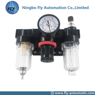 "AC2000 Airtac automatic air control AC series unit 1/4"" precision automatic Filter regulator lubricator"