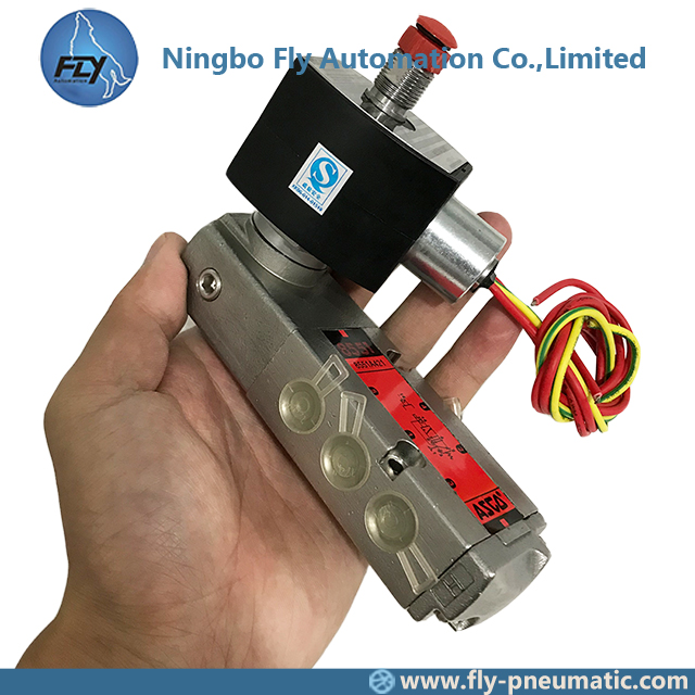 8551A421 EF8551A421 ASCO 8551 series Explosion Proof Pilot Operated High Flow Inline Spool Valve