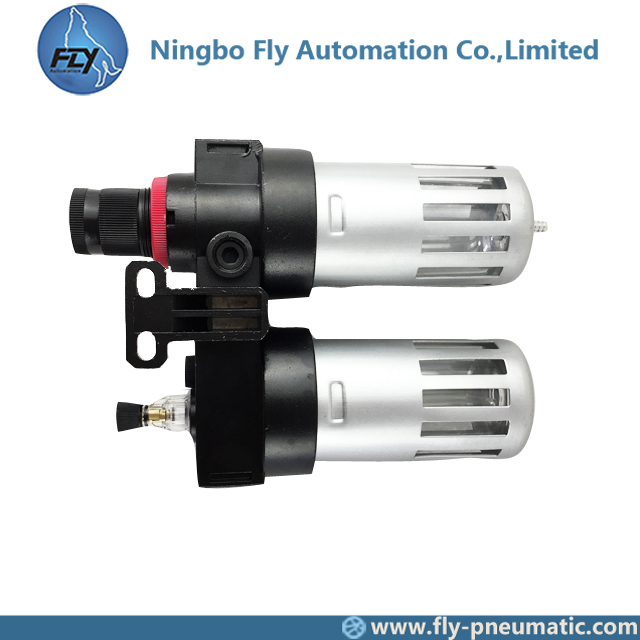 "BFC3000 Airtac Pneumatic Components control source treatment unit 3/8"" BFC series Aluminum alloy precision Regulator filter"